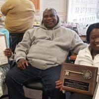 Ohemaa Mercy honored with City Key of Cincinnati