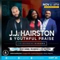 JJ Hairston Announces Live Recording in Nigeria