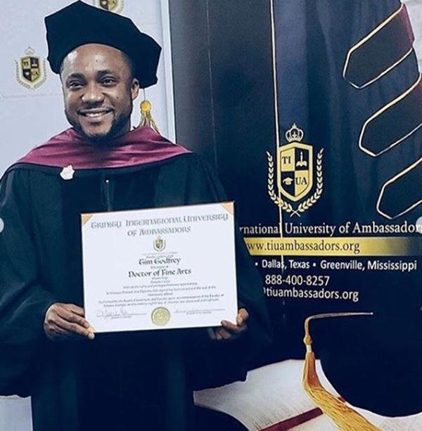 Tim Godfrey Bags A Doctorate Degree From U.S University