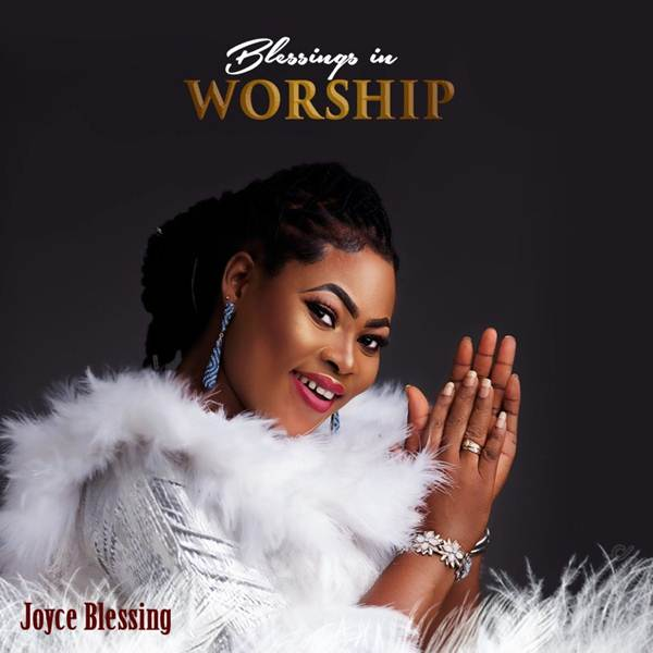 Joyce Blessing - Blessings in Worship Cd Cover