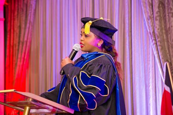 Rev Lucy Natasha Conferred with a Doctorate Degree
