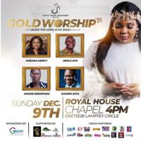 Gold Worship Concert: Ceccy Twum To Rock Audience (Events)