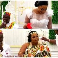 Gospel Musician Gifty Osei Finally Marries NPP's Mr Hopeson Adorye