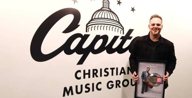 "Matthew West Surprised with RIAA Platinum Certification of ""The Motions"""