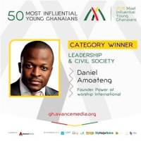 Daniel Amoateng voted 2018 Most Influential Young Ghanaian