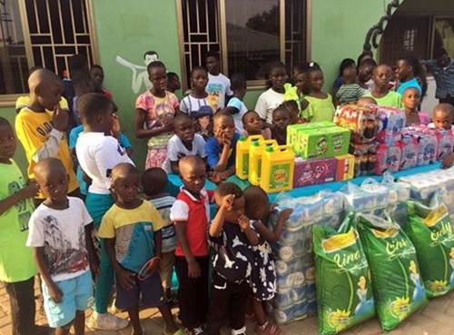 Diana Hamilton Donates To Nungua Children's Home