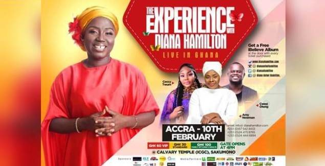 All set for 'Experience with Diana Antwi Hamilton' (Events)