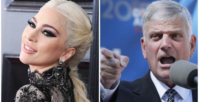 Franklin Graham Slams Lady Gaga's Attack on Pences