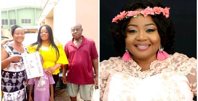 Selina Boateng Gifts her Mother a Brand New Car for Birthday