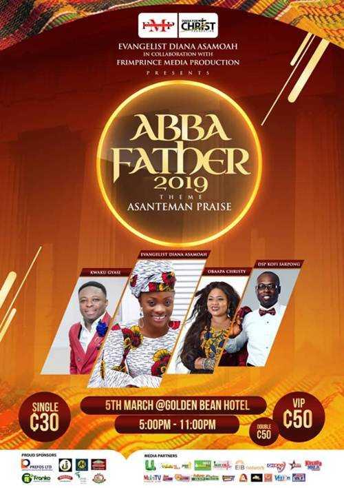 Evangelist Diana Asamoah -  ABBA Father Concert