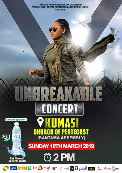 Joyce Blessing to Storm Kumasi With Maiden Unbreakable Concert