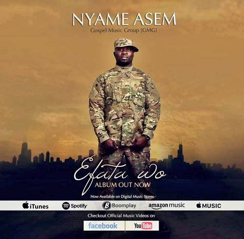 Budding Gospel Artiste 'Nyame Asem' Releases New Album + Video