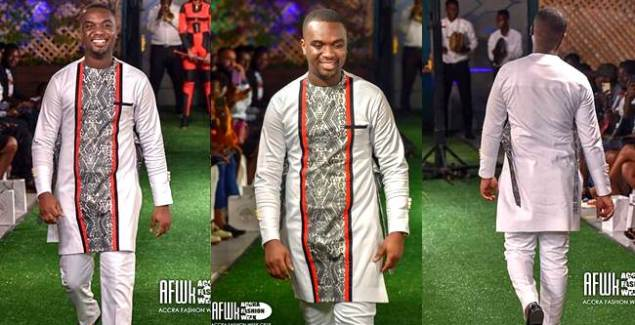 Joe Mettle Turns On The Runway At Jay Ray Ghartey Fashion Hauz