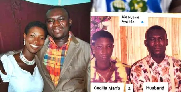 Cecilia Marfo Shares Sweet Throwback Photo With Hubby Mr Kofi Clement
