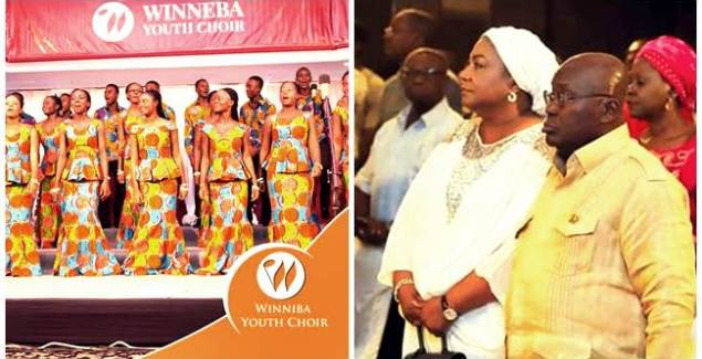 Nana Addo supports Winneba Youth Choir with GH¢50,000