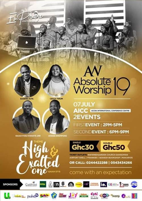 E'mPraise Inc To Host 'Absolute Worship