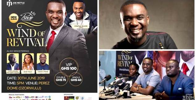 Joe Mettle Holds A Press Conference Ahead Of Wind Of Revival Concert