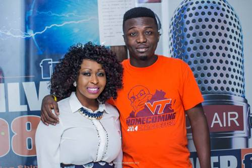 Gospel Diva Louisa Annan Visits Atwea Mountain & Kumasi Radio Stations