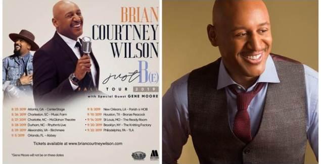Brian Courtney Wilson Announces New National Tour – Just B(E)