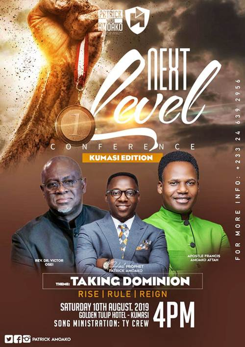 Kumasi Ready for Next Level Conference with Prophet Patrick Amoako