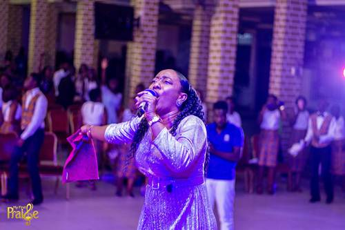 Mega Praise Choir Rocks 'My First Praise' ft Larue, Ruth, Derrick & Others