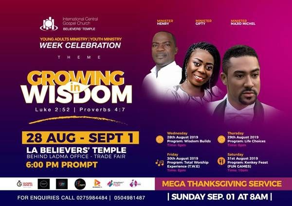 Majid Michel & Others Set for LA Believers' Temple 'Week Celebration'