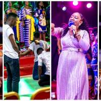 Mega Praise Choir Rocks 'My First Praise' ft Larue, Ruth, Kukua & Others
