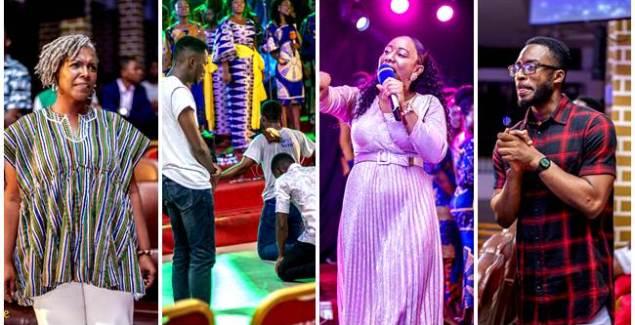 Mega Praise Choir Rocks 'My First Praise' ft Larue, Ruth, Kukua & Others