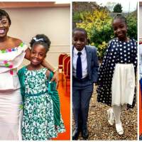 Diana Antwi-Hamilton Shows Off Twin Children As They Mark 9th Birthday