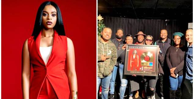 Koryn Hawthorne Receives Gold Plaque for 'Won't He Do It'