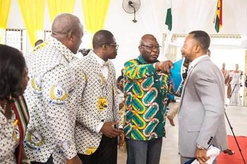 Mahama, Owusu Bempah 'Clash' at Assemblies of God Church