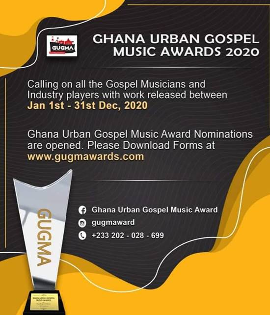 Nominations For The Second Edition Of GUGMA Opened