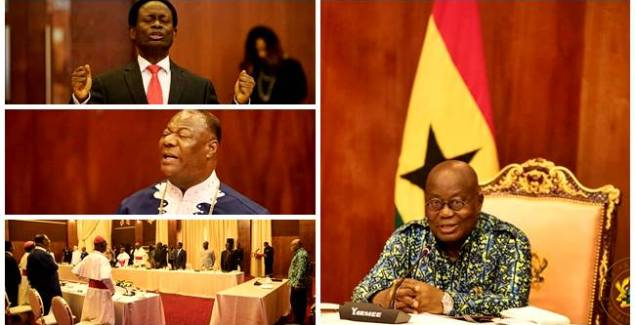 Prez Akufo-Addo's Prayer Breakfast Meeting in Pictures [Photos]
