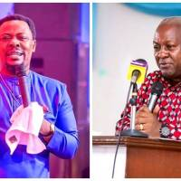 Don't Announce Your Running Mate Now – Prophet Gaisie Tells Mahama