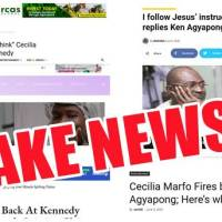 DISCLAIMER: Disregard any FAKE NEWS about Cecilia Marfo Responding to Kennedy Agyapong's Warning