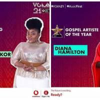 VGMA 2020: Diana Hamilton, Celestine Donkor Emerge Winners