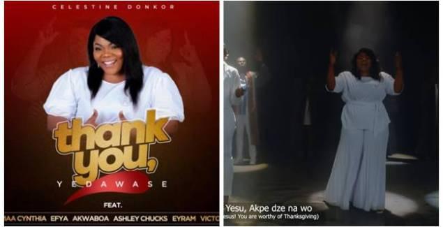 Celestine Donkor ft Efya, Akwaboah & Maa Cynthia - Yedawase (Thank You)