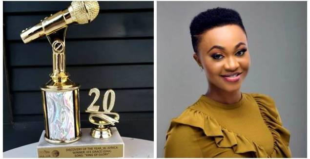 Elusive Ghanaian Gospel Powerhouse, Efe Grace Bags Discovery Of The Year (West Africa) At Maranatha Awards USA