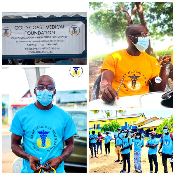 Gospel Musician, Nana Wiafe Together with a Group of NGOs Offers Free Medical Screening For Dansoman People