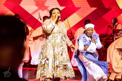 Checkout Highlights of Ohemaa Mercy's Historic Tehillah Experience 2021