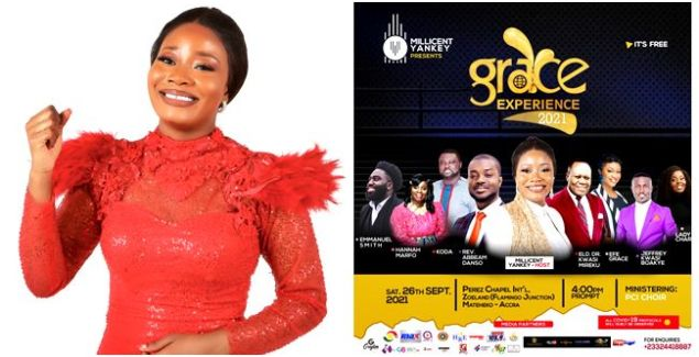 """Millicent Yankey Set to Hold """"Grace Experience"""" Worship Concert on September 26"""