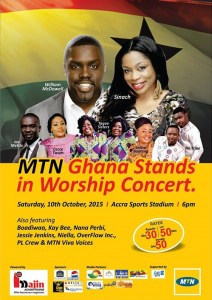 Ghana Stands in Worship