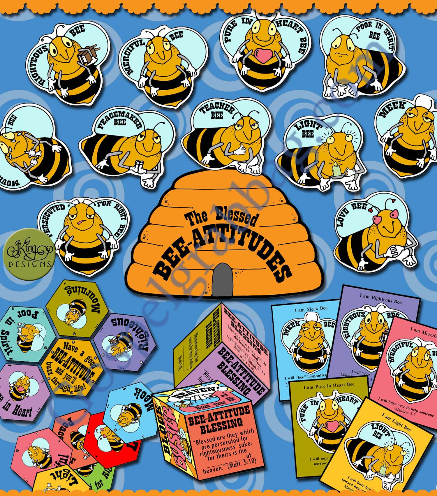 The Blessed Bee Atitudes