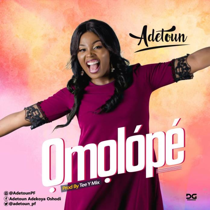 DOWNLOAD MP3 + VIDEO] Adetoun Pumps Up New Song - 'Omolope