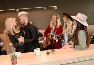 Sister C serenades Colton & Annie Dixon at Revelator Coffee