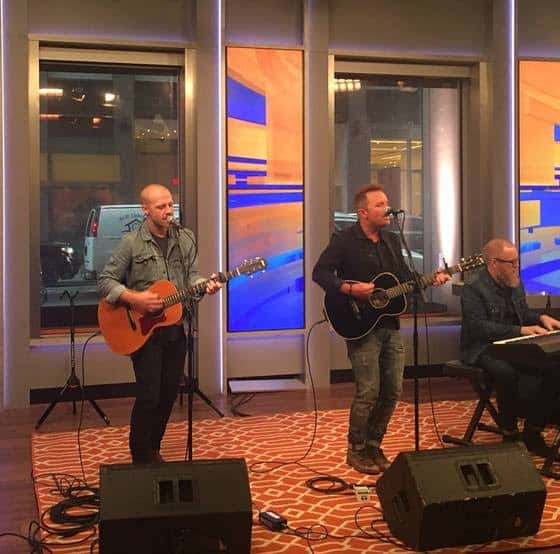 Chris Tomlin performs LIVE on FOX & Friends