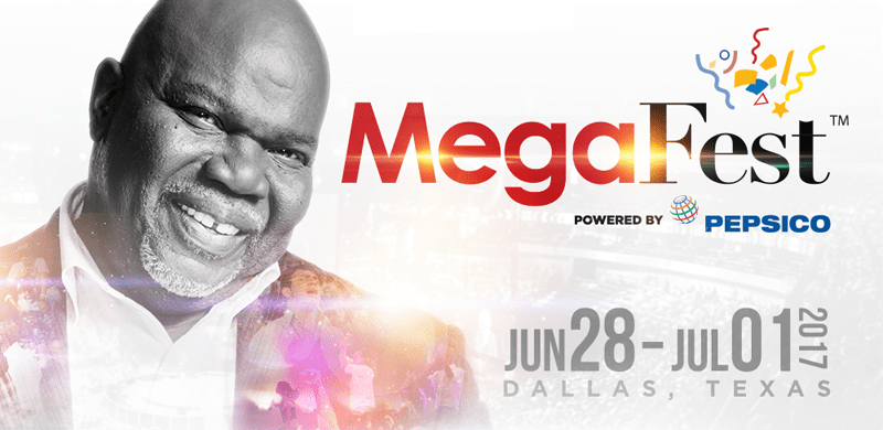Bishop T D  Jakes' Inspirational MegaFest Gears Up for its Third