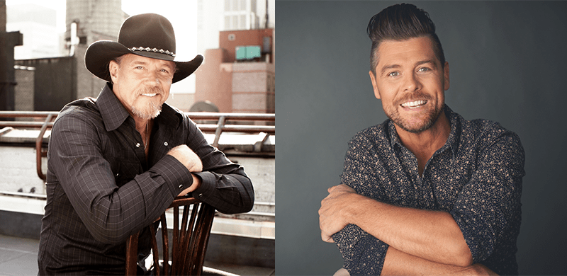 Jason Crabb Joins Trace Adkins For Jammin To Beat The Blues To