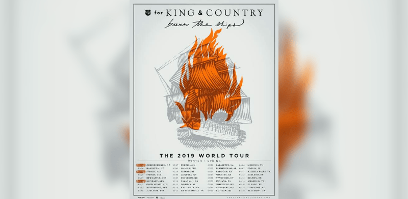 for KING & COUNTRY Launch Spectacular Live Show With The