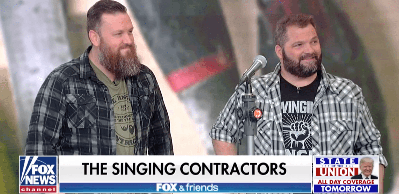 Gaithers The Singing Contractors Perform On Fox Friends The